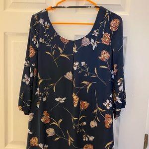 Pattern mini dress